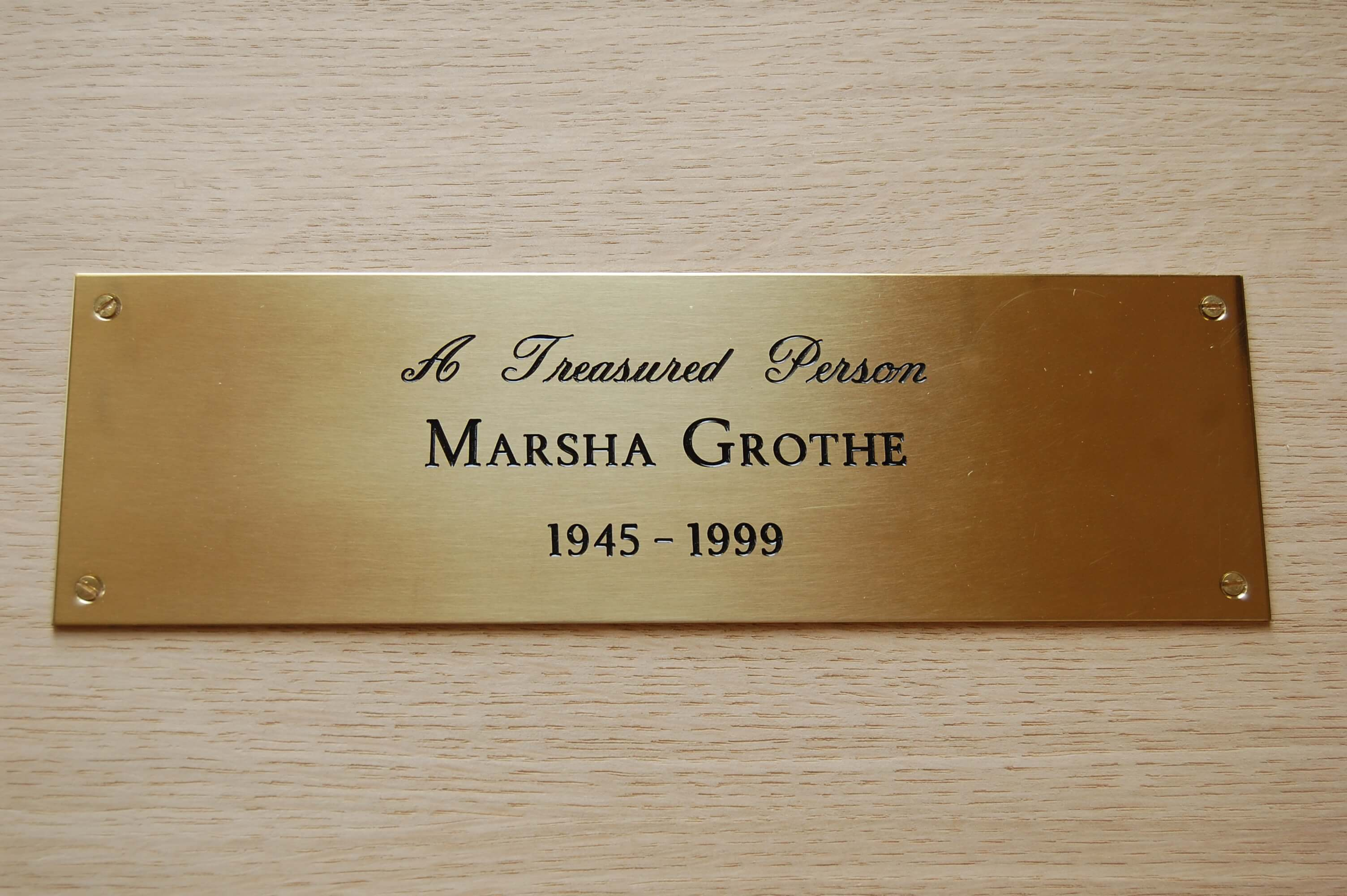Engraved Plaques Branson Leisure