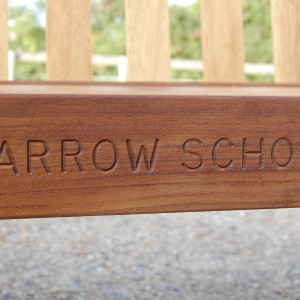 We have been proudly supplying Harrow school with their benches for over 10 years