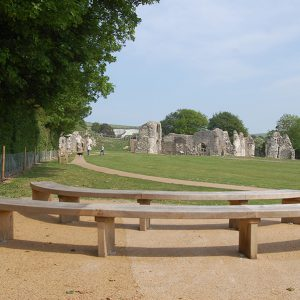 lewes-priory-curved-bench2